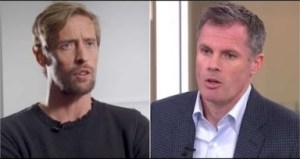 Video: Peter Crouch Makes An Excellent Point About The Jamie Carragher Spitting Incident
